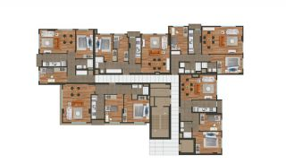 Modern Istanbul Flats 300 mt to the TEM Highway, Property Plans-7