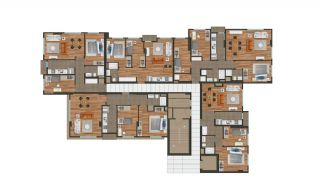 Modern Istanbul Flats 300 mt to the TEM Highway, Property Plans-8