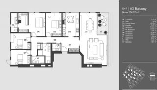 Special Designed Uskudar Apartments with Bosphorus View, Property Plans-1
