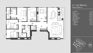 Special Designed Uskudar Apartments with Bosphorus View, Property Plans-3