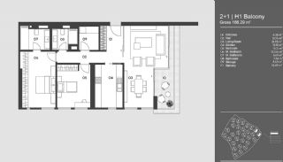 Special Designed Uskudar Apartments with Bosphorus View, Property Plans-9