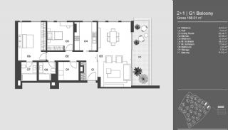 Special Designed Uskudar Apartments with Bosphorus View, Property Plans-11