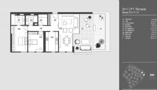 Special Designed Uskudar Apartments with Bosphorus View, Property Plans-12