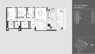 Special Designed Uskudar Apartments with Bosphorus View, Property Plans-13