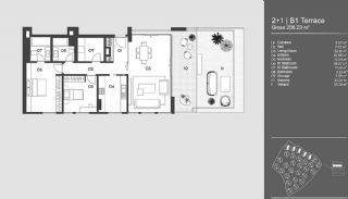 Special Designed Uskudar Apartments with Bosphorus View, Property Plans-18