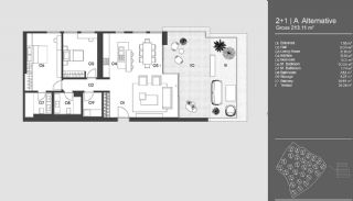 Special Designed Uskudar Apartments with Bosphorus View, Property Plans-19
