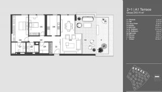 Special Designed Uskudar Apartments with Bosphorus View, Property Plans-20