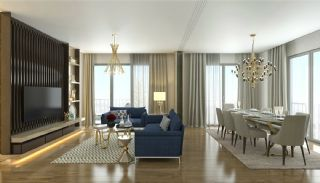 Elegant Apartments Intertwined with Greenery in Istanbul, Interior Photos-2