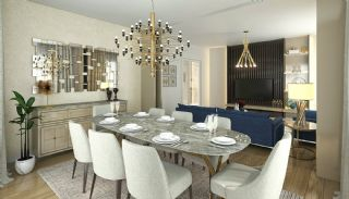 Elegant Apartments Intertwined with Greenery in Istanbul, Interior Photos-3