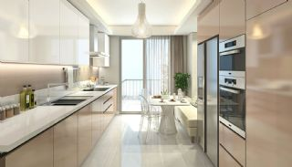 Elegant Apartments Intertwined with Greenery in Istanbul, Interior Photos-4