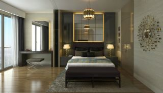 Elegant Apartments Intertwined with Greenery in Istanbul, Interior Photos-6