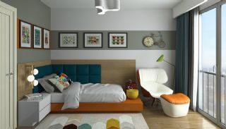 Elegant Apartments Intertwined with Greenery in Istanbul, Interior Photos-9