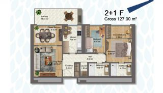 Elegant Apartments Intertwined with Greenery in Istanbul, Property Plans-6
