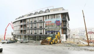 Sea View Roomy Houses Near All Facilities in Istanbul Turkey, Construction Photos-1