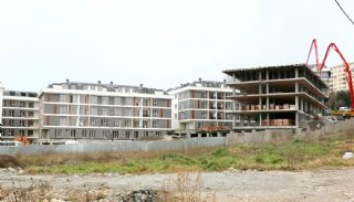 Sea View Roomy Houses Near All Facilities in Istanbul Turkey, Construction Photos-3