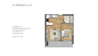 High-Ceilinged Spacious Property in Istanbul Esenyurt, Property Plans-1