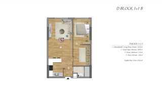 High-Ceilinged Spacious Property in Istanbul Esenyurt, Property Plans-2
