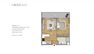 High-Ceilinged Spacious Property in Istanbul Esenyurt, Property Plans-3