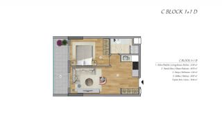 High-Ceilinged Spacious Property in Istanbul Esenyurt, Property Plans-4