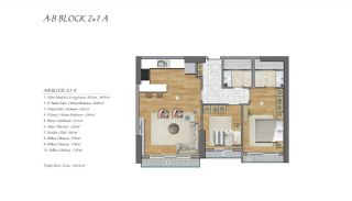 High-Ceilinged Spacious Property in Istanbul Esenyurt, Property Plans-5