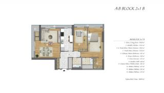 High-Ceilinged Spacious Property in Istanbul Esenyurt, Property Plans-6