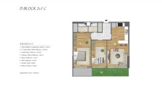 High-Ceilinged Spacious Property in Istanbul Esenyurt, Property Plans-7