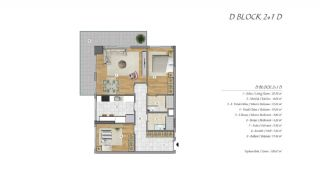 High-Ceilinged Spacious Property in Istanbul Esenyurt, Property Plans-8