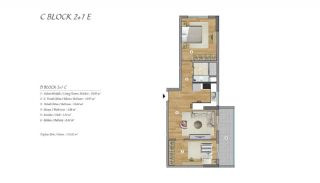 High-Ceilinged Spacious Property in Istanbul Esenyurt, Property Plans-9