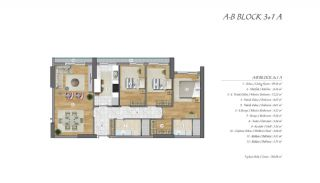 High-Ceilinged Spacious Property in Istanbul Esenyurt, Property Plans-10