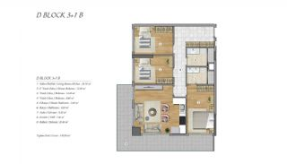 High-Ceilinged Spacious Property in Istanbul Esenyurt, Property Plans-11
