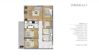 High-Ceilinged Spacious Property in Istanbul Esenyurt, Property Plans-12