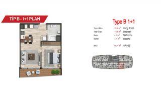 آپارتمان لوکس مرکزی در سمت آسیایی استانبول, پلان ملک-2