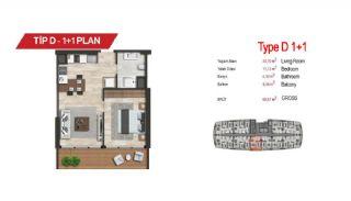آپارتمان لوکس مرکزی در سمت آسیایی استانبول, پلان ملک-4