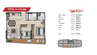 آپارتمان لوکس مرکزی در سمت آسیایی استانبول, پلان ملک-6