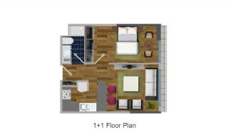 Modern Apartments in the Desirable Location of Esenyurt, Property Plans-1