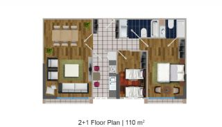 Modern Apartments in the Desirable Location of Esenyurt, Property Plans-3