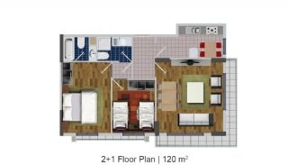 Modern Apartments in the Desirable Location of Esenyurt, Property Plans-4