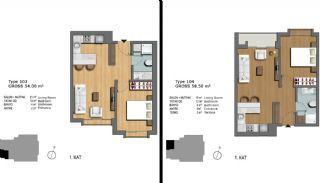 First-Class Flats Offering Comfortable Living in Istanbul, Property Plans-2