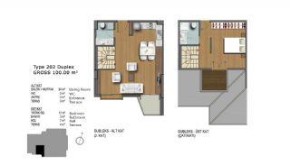 Eerste Klas Istanbul Appartementen Bieden Comfortabel Wonen, Vloer Plannen-6