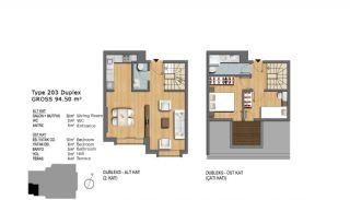 Eerste Klas Istanbul Appartementen Bieden Comfortabel Wonen, Vloer Plannen-7