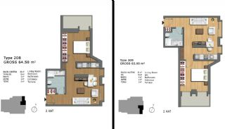First-Class Flats Offering Comfortable Living in Istanbul, Property Plans-12