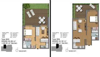 Eerste Klas Istanbul Appartementen Bieden Comfortabel Wonen, Vloer Plannen-16