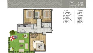 Smart Real Estate in the Central Location of Istanbul, Property Plans-6