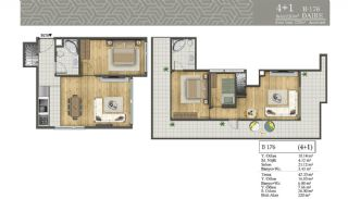 Smart Real Estate in the Central Location of Istanbul, Property Plans-14