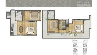 Недвижимость в Центральном Районе Стамбула, Планировка -14