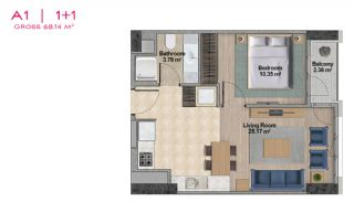 Spacious Apartments with Private School in Istanbul, Property Plans-2