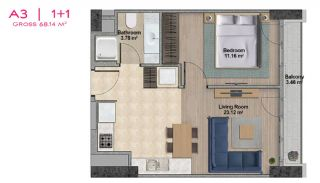 Spacious Apartments with Private School in Istanbul, Property Plans-4