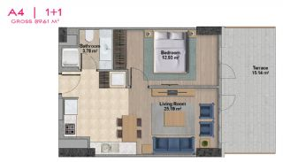 Spacious Apartments with Private School in Istanbul, Property Plans-5