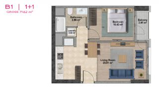 Spacious Apartments with Private School in Istanbul, Property Plans-6