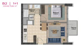 Spacious Apartments with Private School in Istanbul, Property Plans-7